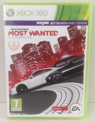 XBOX 360 Need For Speed : Most Wanted *** NO MANUAL *** XBOX360 PAL 2