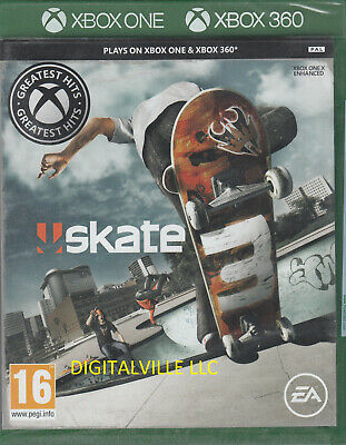 Skate 3 Xbox 360 & Xbox One Compatible Brand New Factory Sealed  ()