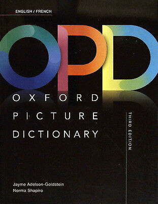 Oxford PICTURE DICTIONARY Third Edition 2017 ENGLISH/FRENCH @NEW@ ()