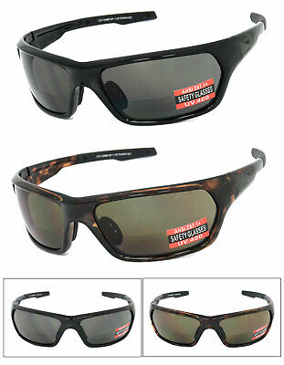 1 or 2 Pair(s) Safety Bifocal Vision Reading Sunglasses UV Protect ANSI (Safety Bifocals)