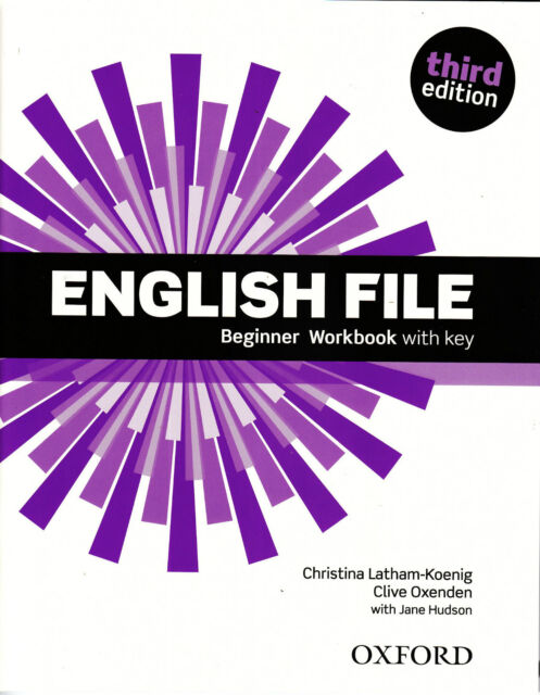 Oxford ENGLISH FILE THIRD EDITION 2015 Beginner WORKBOOK with KEY @BRAND NEW@