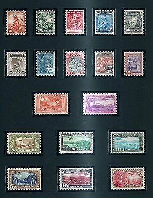 "MEXICO 1934 ""PRO UNIVERSIDAD"" CPL.SET+AIR MAIL POST OFFICE FRESH ** - XXXRARE !"