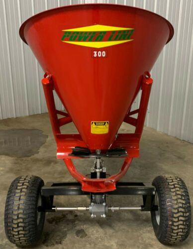 Metal Pull Behind Seed Fertilizer Spreaders Buggy Applicator