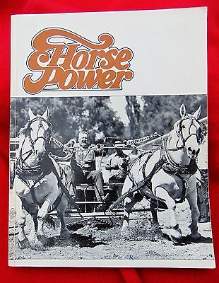 HORSE POWER by Frank Lessiter ~1970's ~ Reiman Pub.~illustrated SC ~ Cost $14.99