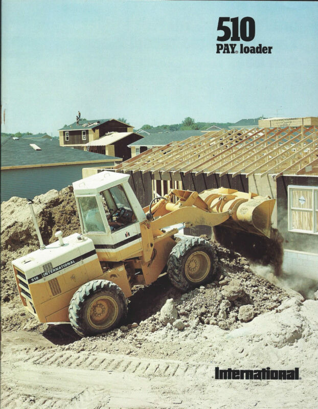 Equipment Brochure - International IH - 510 - Pay Loader Wheel - c1977 (E3069)