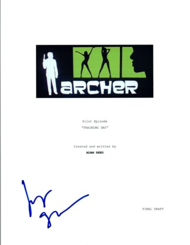 """Judy Greer Signed Autographed ARCHER """"Training Day"""" Episode Script COA VD"""