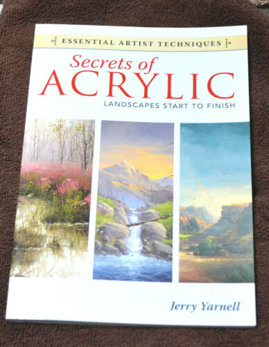 Jerry Yarnell Secrets of Acrylic in New Condition