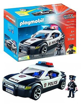 PLAYMOBIL 5673 Polizeiauto USA  Police Cruiser Neu & Ovp City Action