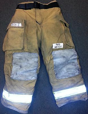 40x30 Pants Firefighter Turnout Bunker Fire Gear W Liner Globe Gxtreme P653