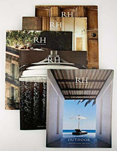 *RH Restoration Hardware Source Book 2014 Magazines Catalogs Lot of 5