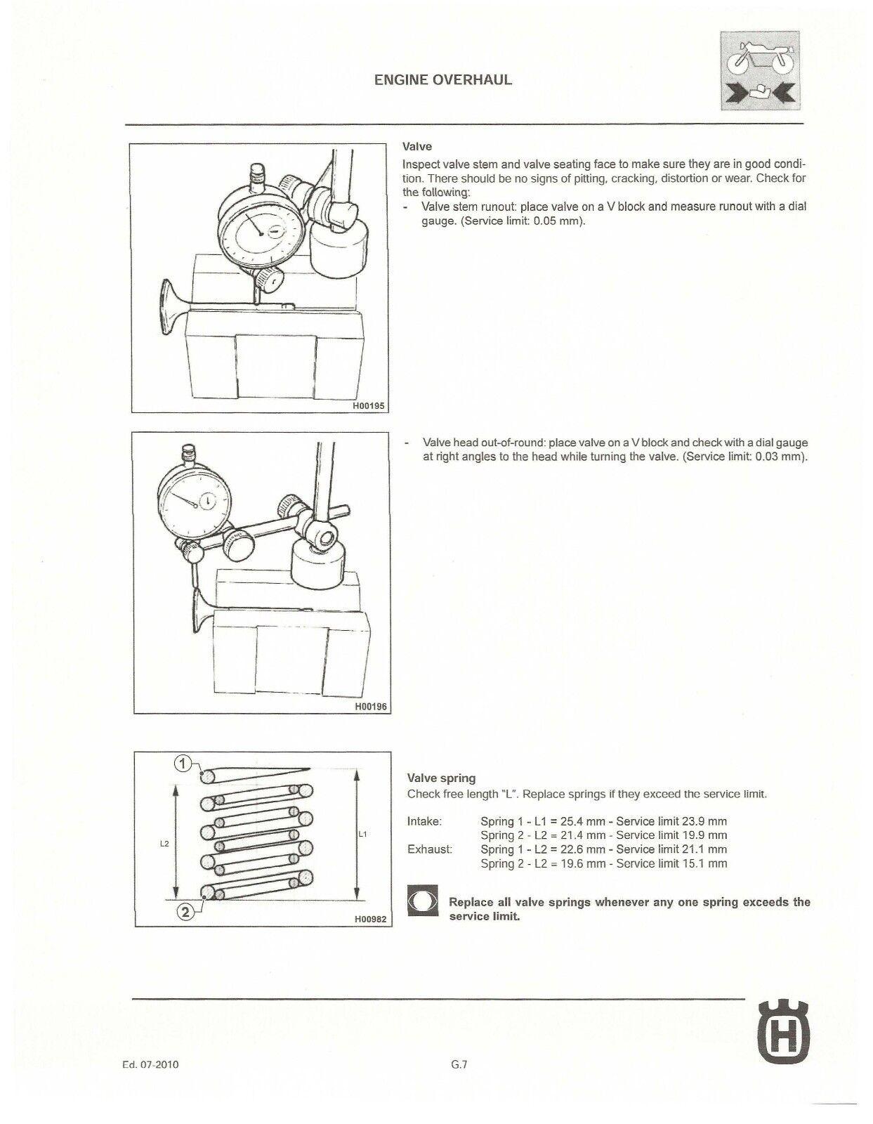 ... workshop service manual 2011 TC 250 7 of 12 Husqvarna ...