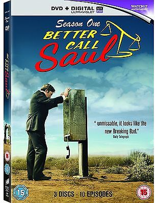 Better Call Saul Complete Series 1 DVD All Episode First Season UK Release