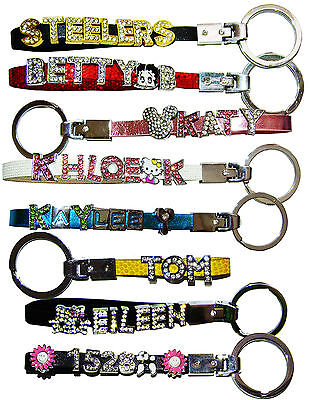 Personalized Keychain Any Name Words Great Gift For Christmas Birthday Couple