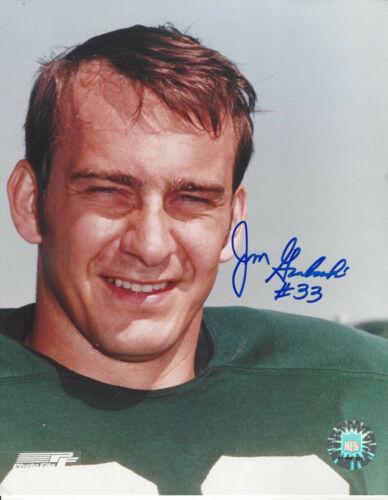 Green Bay Packers full back Jim Grabowski  autographed 8x10  photo
