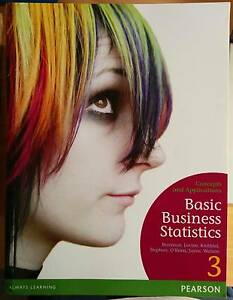 Basic Business Statistics textbook Ringwood North Maroondah Area Preview