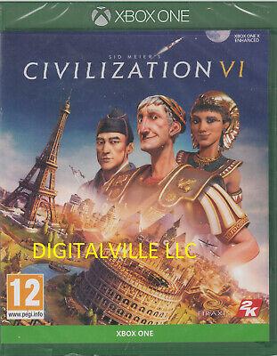 Sid Meier's Civilization VI Xbox One Brand New Factory Sealed