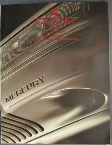 1994 Mercury Brochure Grand Marquis Cougar XR7 Sable Topaz Capri Tracer Villager