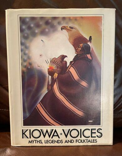 KIOWA VOICES LARGE BOOK VOL. II TCU PRESS 1st PRINTING ILLUSTRATED HB DJ