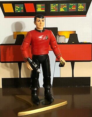 "Playmates 4.5"" Star Trek TOS Scotty - Action Figure w/Stand & Accessories"