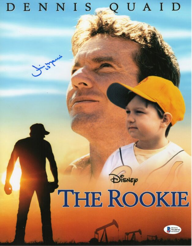 Jim Morris Autograph 11x14 Photo Disney The Rookie Signed BAS COA