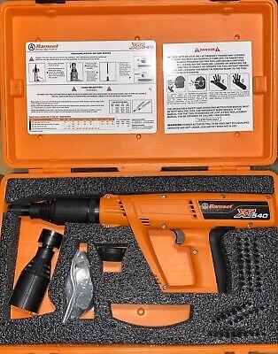 New Ramset Xt540 .27 Cal Powder Actuated Tool Plus Magnetic Head W200 Ld100 Dsc