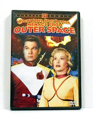 Rocky Jones, Space Ranger: Menace From Outer Space DVD Region ALL