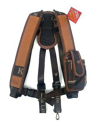 Kaya KL-611 Carpenter Work Tool Belt Suspenders One Size