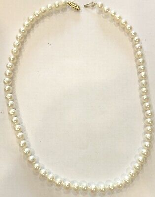 """14ct Gold Clasp Honora Pearls 18"""""""