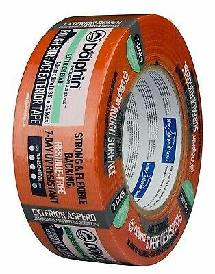 48mm x 20m Orange Putzerband Klebeband für raue Oberflächen (Orange Klebeband)