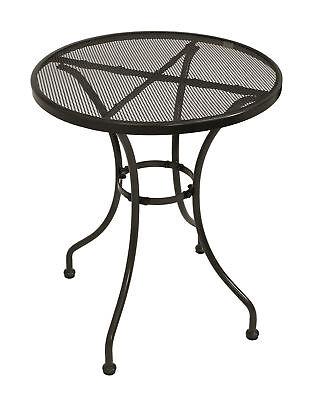 Bistrotisch Balkontisch Gartentisch Gartenmöbel Tisch Metall CLASSIC 60cm rund