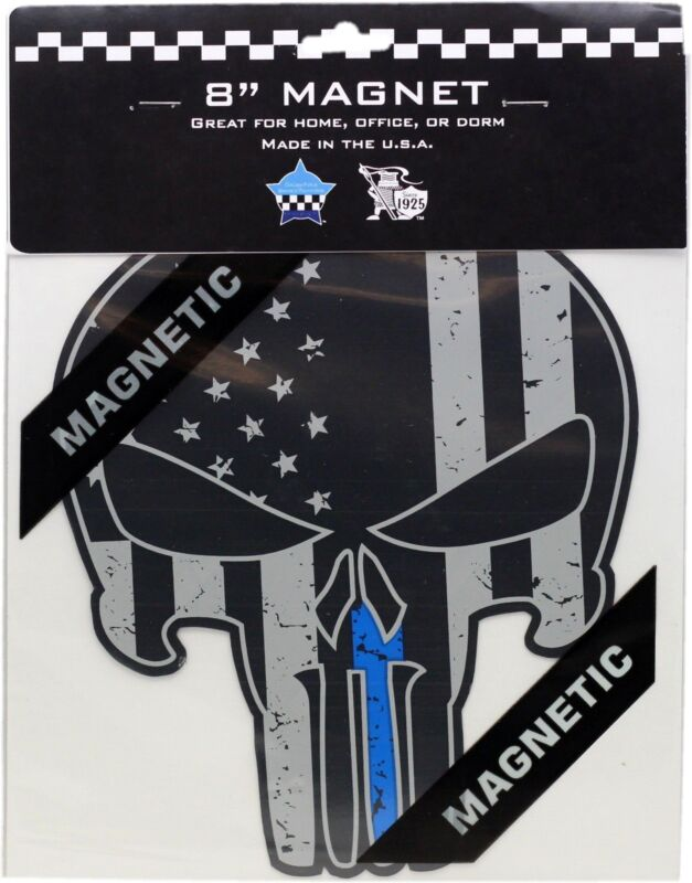 "Punisher Blue Line 8"" Magnet"