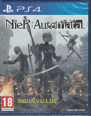 Nier Automata PS4 Sony PlayStation 4 Brand New Factory Sealed