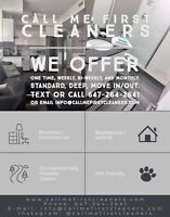 CLEANING SERVICES AVAILABLE! COMMERCIAL & RESIDENTIAL