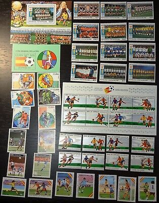 1982 Soccer, Football World Cup, collection, MNH (209)