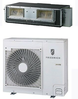 Friedrich D24YJ Concealed Duct Single Zone Ductless Mini Split System 24,000 BTU