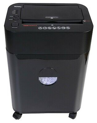 Royal 8 Sheet Micro-cut Paper Shredder 80 Sheet Auto Feed Portable