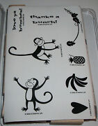 Stampin Up Monkey Business