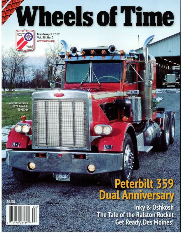 PETERBILT Model 359 Truck Anniversary, Oshkosh worker, Turbine Powered Trucks