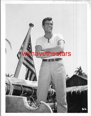 Vintage Gardner McKay HANDSOME SEXY '59 TV PARADISE Publicity Portrait