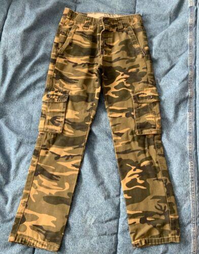 """Shaun White Boy Camo SKINNY Jeans Size 8 ADJUSTABLE Stretch Waist 22.5"""" to 25"""""""