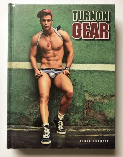 SEALED COPY TURN ON GEAR Bruno Gmunder. Hardcover Copy. Very Rare. MINT. - $87.50