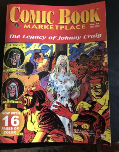 Fanzine COMIC BOOK MARKETPLACE #91 - Legacy of Johnny Craig