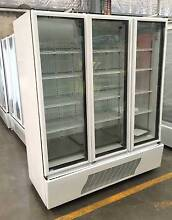 Orford 3 Glass Door Commercial Fridge Upright Display Shop, drink Westmead Parramatta Area Preview