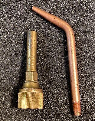 Harris H-19-2e Gas Mixer 5 Weldingbrazing Torch Tip Nozzle Equal Pressure