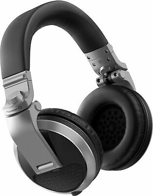 Pioneer DJ HDJ-X5-S - Over-ear DJ Headphones (Silver)