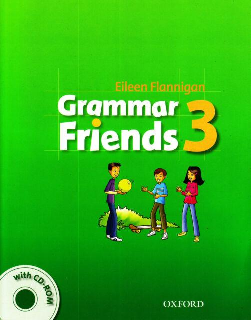 Oxford GRAMMAR FRIENDS 3: Student's Book with CD-ROM / Eileen Flannigan @NEW@