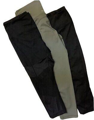 Z by Zella & Aerie Athletic Leggings 3 Pr  Ankle Crop Leggings XL