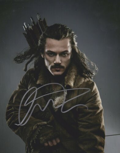 Luke Evans Signed The Hobbit 10x8 Photo AFTAL