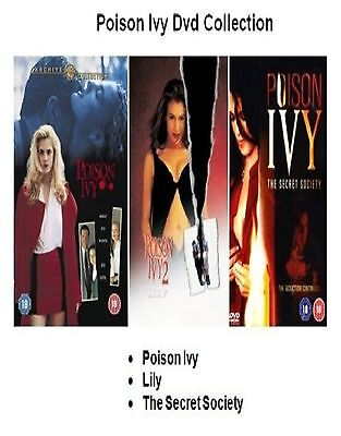 Poison Ivy Movies 3 Film Collection Part 1 2 Lily 3 Secret Society New Sealed