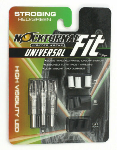 Nockturnal fit 3 pack 2021 Lots of options Strobe NEW IN THE PACKAGE Nocturnal